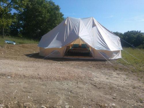 The Emperor Tent -South side